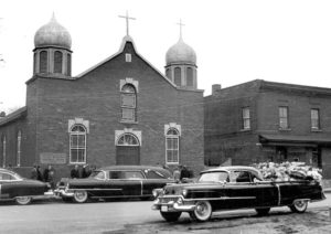 Funeral in 1956