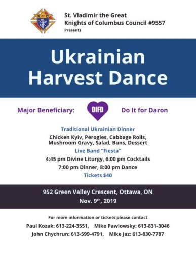 Annual Ukrainian Harvest Dance