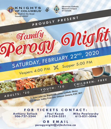 Family Perogy Night
