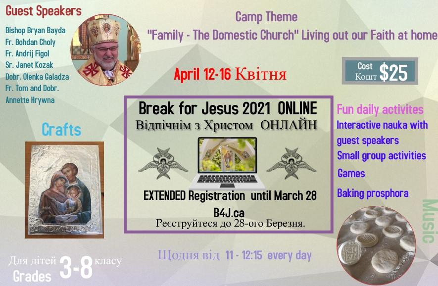 Break for Jesus